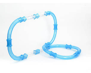 Гоночный трек CHARIOTS Speed Pipe по водопроводным трубам на р/у 24 детали (CS2424RT2024), фото 2