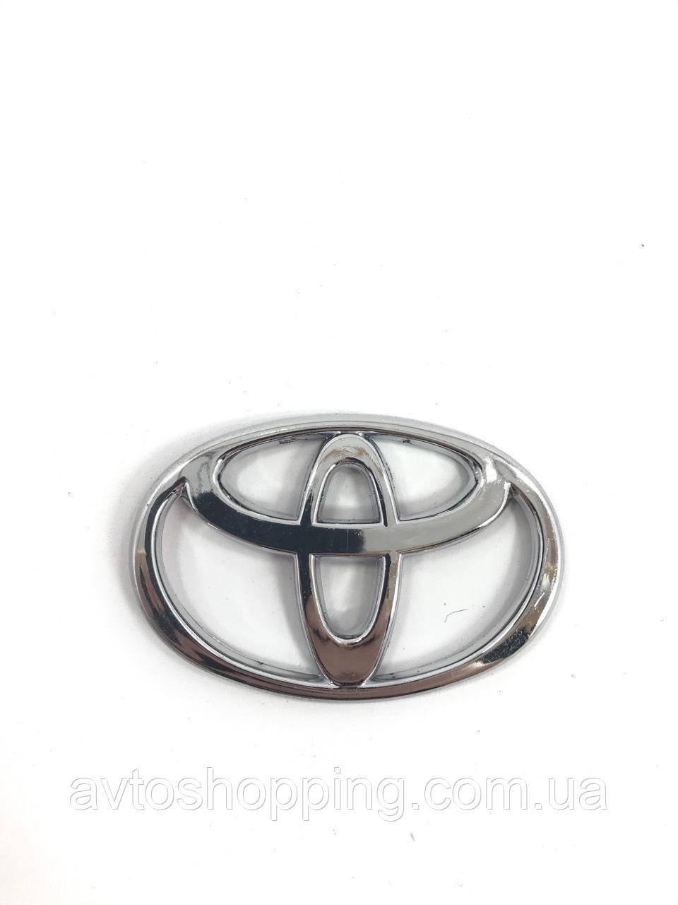 Значок эмблема на капот,багажник Тойота Toyota 74*50 мм