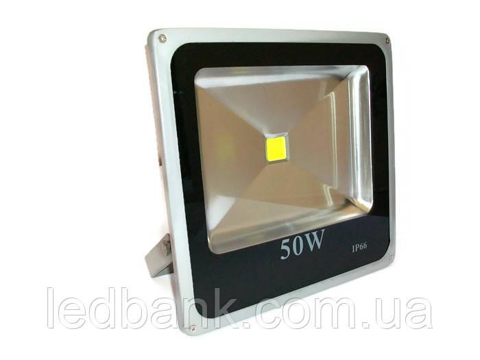 Светодиодный прожектор 50 Вт Slim LED , фото 1