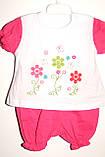 Комплект на дівчинку 6,12,18 міс арт 75453 Туреччина рожевий,кораловий., фото 6