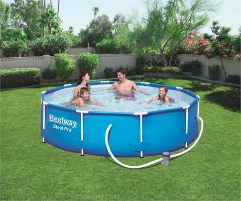 Каркасный бассейн Intex 56681 (366х76 см.)  с фильтр-насосом