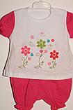 Комплект на дівчинку 6,12,18 міс арт 75453 Туреччина рожевий,кораловий., фото 7