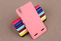 Пластиковий чохол для Lenovo A6010 рожевий, фото 1