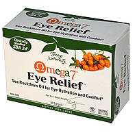 Омега 7 (Omega 7)  витамины для глаз EuroPharma  60 гелевых капсул