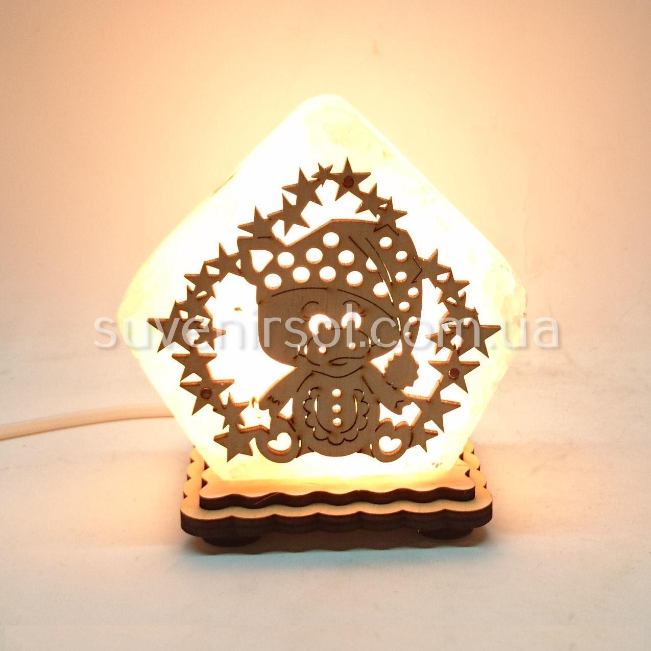 Соляной светильник Домик маленький Свинка ММ2