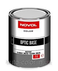 Автоэмаль металлик Novol OPTIC BASE  626 Мокрый асфальт 1л