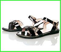 Женские Сандалии Босоножки Летняя Обувь Чёрные (размеры: 37,38,39,40)