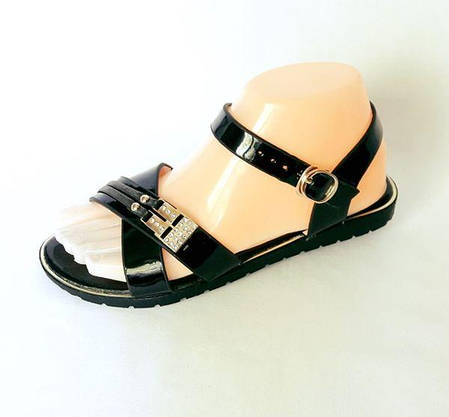 Жіночі Сандалі Босоніжки Літнє Взуття Чорні (розміри: 38), фото 2