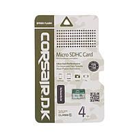 Карта Памяти CorsairDK MicroSDHC UHS-1 4gb Цвет Зелёная