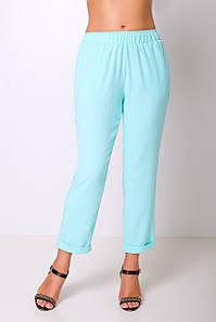 Женские брюки на резинке больших размеров (Техас lzn)