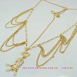 Диадема в восточном стиле, тика под золото с жемчугом, тиара, высота 8,5 см., фото 3