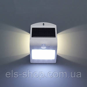 Светодиодный светильник на солнечной батарее с датчиком движения ЭНЕЙ ButterflyLight 1.5 Вт 4000К Белый