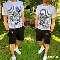Летний мужской костюм футболка+шорты