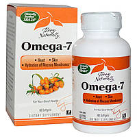 Омега 7 (Omega 7)  витамины для кожи EuroPharma  60 капсул