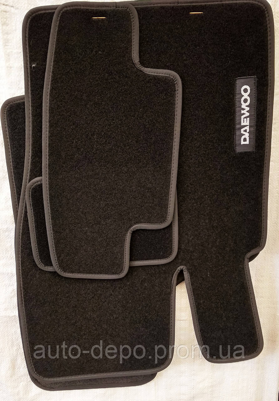 Тканевые автомобильные коврики DAEWOO SENS ( ДЕУ СЕНС ) с 2002 г.в.