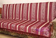 Комплект покрывал Фараон на диван и кресла. Цвет - бордо, фото 1