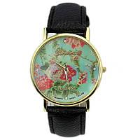 Часы женские Geneva (Женева) - чёрные