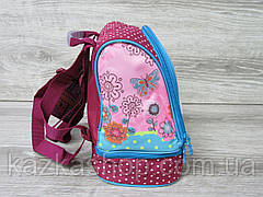 """Маленький детский рюкзак для дошколят, на два отдела, термоткань, мягкие лямки, """"Кошечка"""", фото 2"""