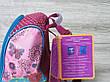 """Маленький детский рюкзак для дошколят, на два отдела, термоткань, мягкие лямки, """"Кошечка"""", фото 5"""