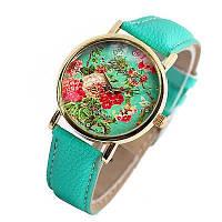 Часы женские наручные Geneva - мятные
