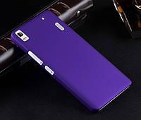 Пластиковый чехол для Lenovo A7000 фиолетовый, фото 1