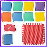 Массажный текстурный коврик пазл для детей M 5735 EVA