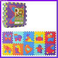 Детский игровой коврик Мозаика M 3517, коврик пазл