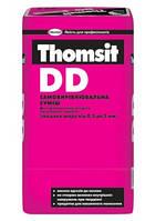 Самовыравнивающаяся смесь Thomsit DD 25кг (толщина 0,5 - 5мм), цементная смесь для подготовки оснований полов