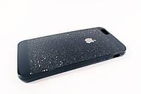 Чехол силиконовый с блестящим слоем iphone 6 6s