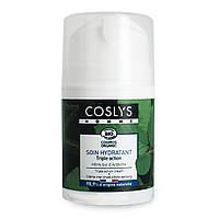 Крем мужской для лица тройного действия с органическим экстрактом бука Coslys, 50 мл