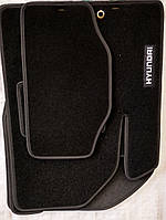 Тканевые автомобильные коврики HYUNDAI Elantra (HD) 2006-2011 ( ХЕНДАЙ ЭЛАНТРА )