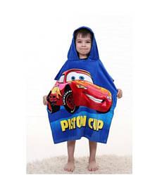 Детские пляжные полотенца и пончо с капюшоном