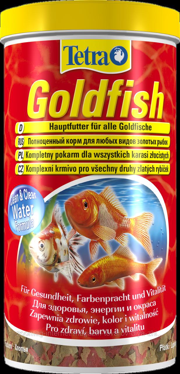 "Пластинчатый корм для золотых рыбок ""Goldfish"" (1л), Tetra™"