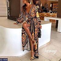 Красивое вечернее платье в пол,нарядное платье, фото 1