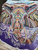 Пляжные полотенца-подстилки с  рисунками животных