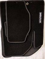 Тканевые автомобильные коврики HYUNDAI i10 II (IA) 2014- ( ХЕНДАЙ ), фото 1