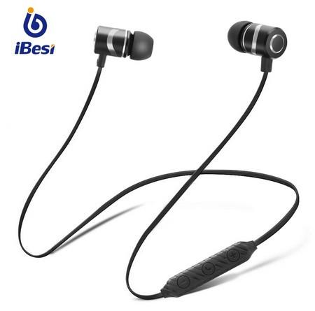 Бездротові bluetooth-навушники IBESI L08 HD Stereo Power Bass магнітні