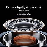 Беспроводные bluetooth наушники IBESI L08 HD Stereo Heavy Bass магнитные, фото 9