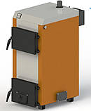 Твердотопливный котел «КГ-15» с электронной автоматикой и вентилятором, фото 3