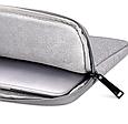 Чехол для Macbook Air/Pro 13,3'' - темно серый, фото 10