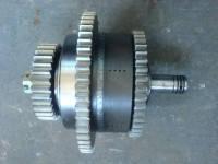 Корзина сцепления 2. 4 скорости  Z510210600  (4-й фрикционный в сборе) на КПП TR1-200