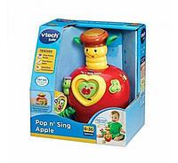 Vtech Развивающее музыкальное яблочко Pop and Sing Apple с сюрпризом 142703