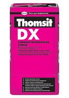 Самовыравнивающаяся смесь Thomsit DX 25кг (толщина 0,5 - 10мм), цементная смесь для подготовки оснований полов