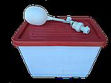 БАКИ для поения Ниппельные поилки для кур бройлеров перепелов. Емкость для ниппельного поения., фото 2