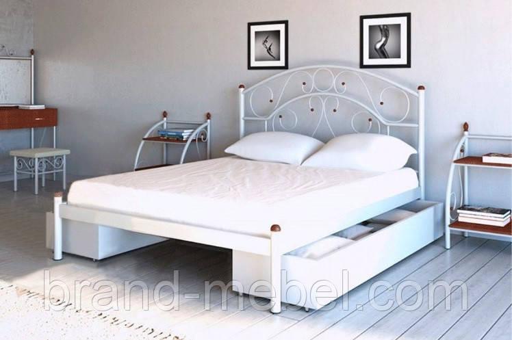 Ліжко металеве Скарлет /Кровать металлическая  Скарлет