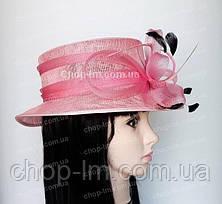 """Шляпа женская """"Совершенство"""" нежно-розовая, фото 2"""