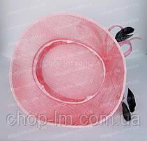 """Шляпа женская """"Совершенство"""" нежно-розовая, фото 3"""