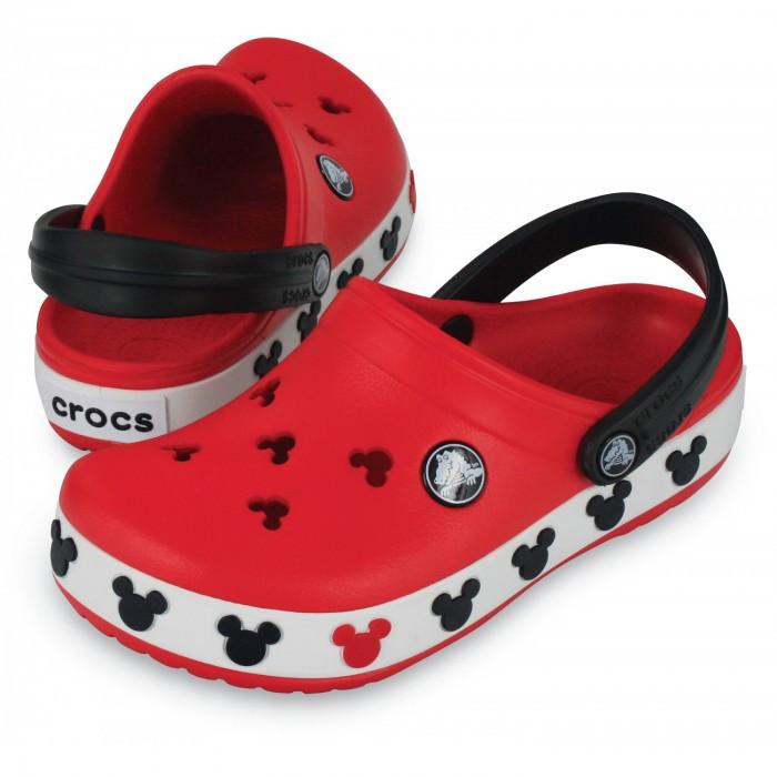 Кроксы детские Crocs Crocband Mickey ІI Kids (37) 24-25 разм. С 8/9