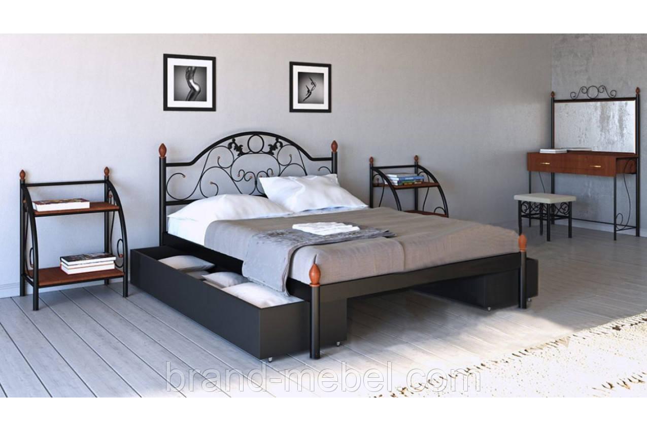 Ліжко металеве Франческа /Кровать металлическая Франческа