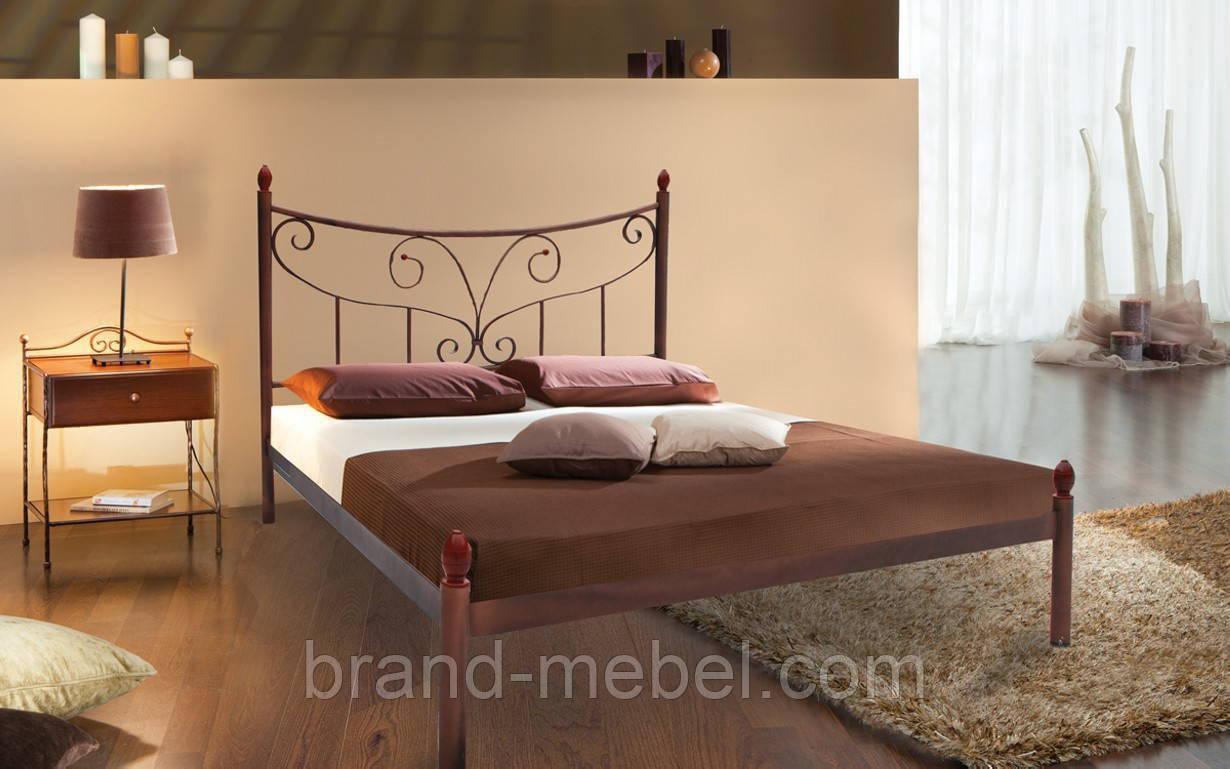 Ліжко металеве Луїза /Кровать металлическая Луиза